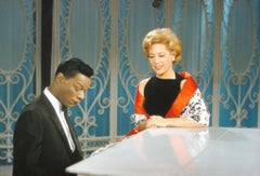 Nat King Cole and Dinah Shore Performing Together Fine Art Print