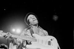 Jimi Hendrix in Action While Performing in Harlem Fine Art Print