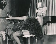 Quirky Carol Burnett Dressed as Showgirl Fine Art Print