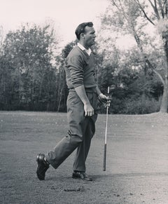 Arnold Palmer Legendary Golfer Fine Art Print