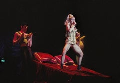 Madonna Performing in NYC Fine Art Print