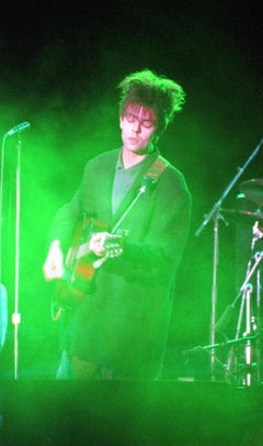 Ian McCulloch of Echo and the Bunnymen in Concert Fine Art Print