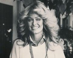 Farrah Fawcett Smiling Fine Art Print