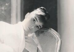 Audrey Hepburn Windowlit Glamour Shot Fine Art Print