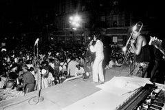 Maxine Brown on Stage - Jimi Hendrix's Opener Fine Art Print