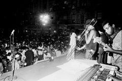 Maxine Brown - Jimi Hendrix's Opener on Stage in Harlem Fine Art Print