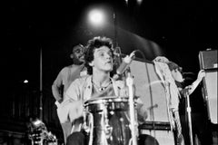 Young Mitch Mitchell Playing in Harlem Fine Art Print