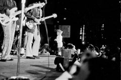Child Running on Stage During Jimi Hendrix and the Experience Fine Art Print