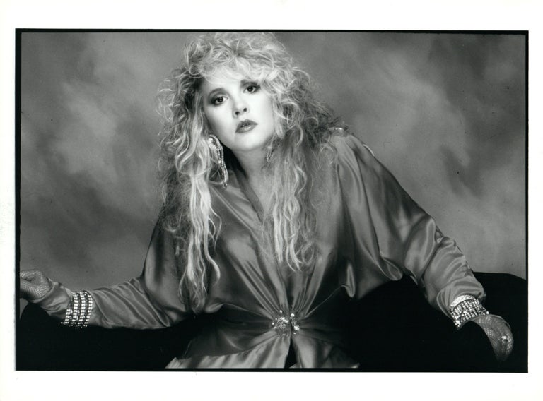 Stevie Nicks in Studio Vintage Original Photograph