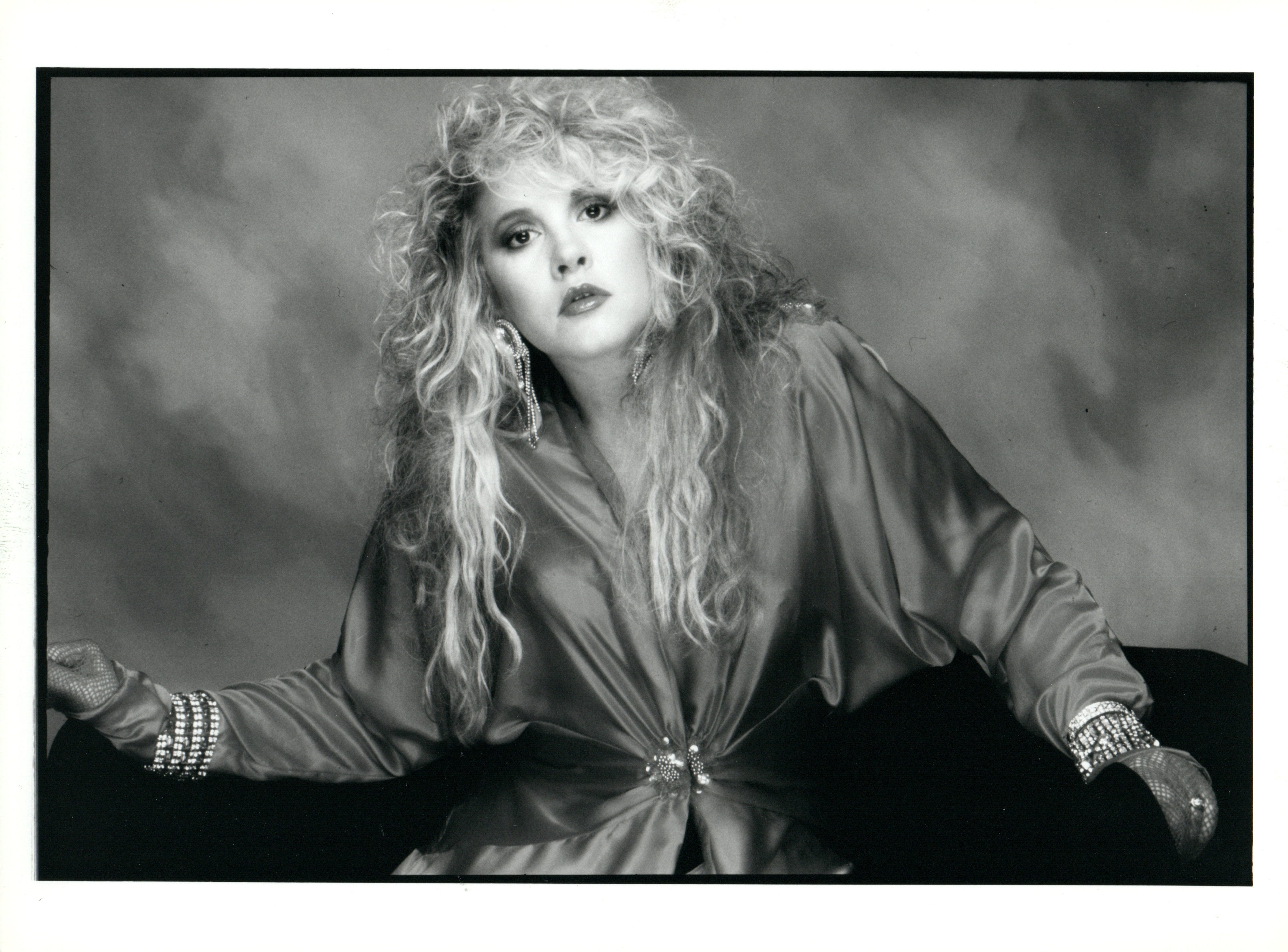 Stevie nicks in studio vintage original photograph
