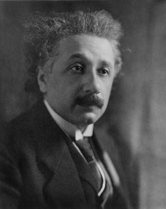 Classical Portrait of Albert Einstein Fine Art Print
