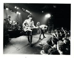 The Cramps on Stage Vintage Original Photograph