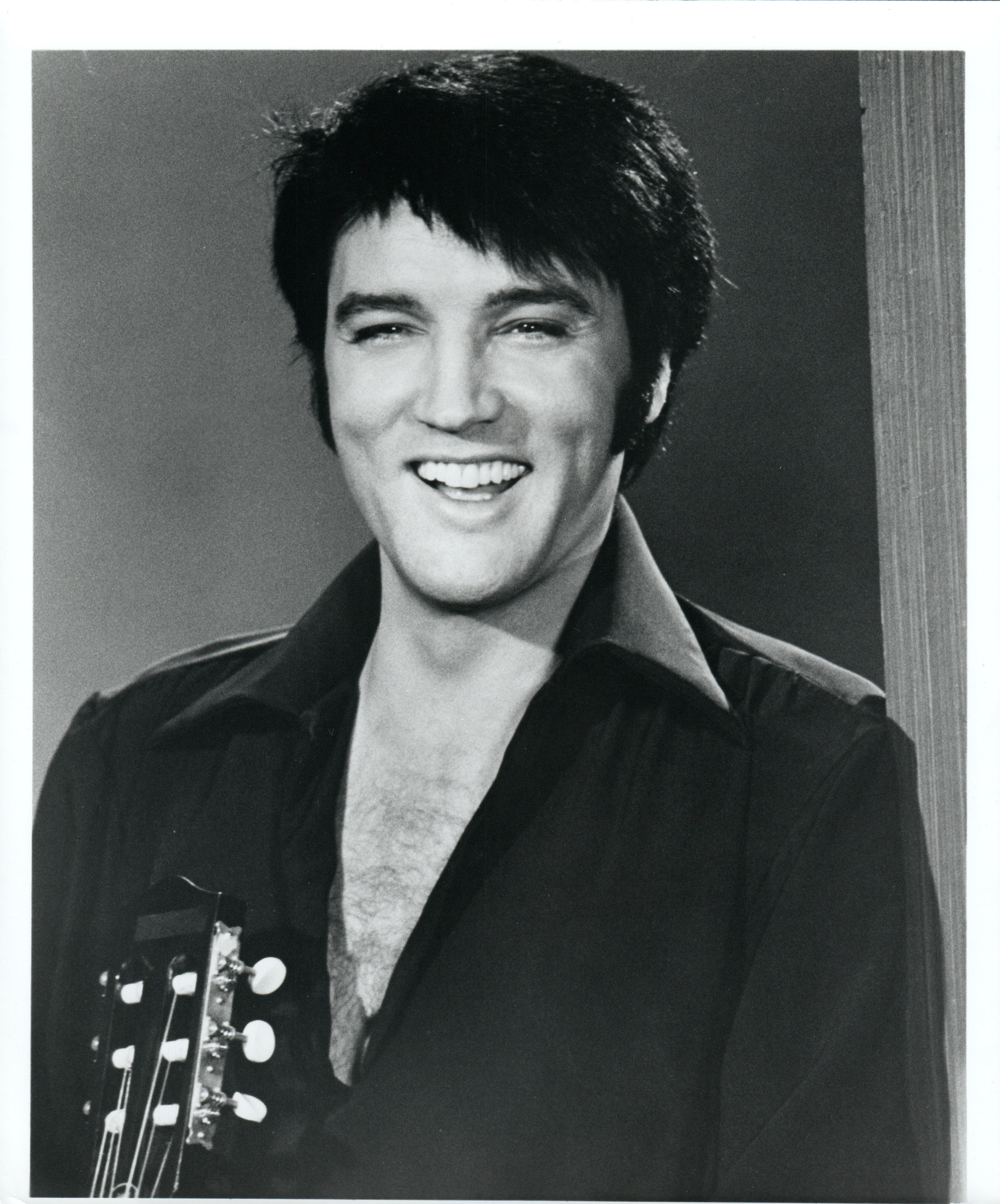 Elvis smiling vintage original photograph
