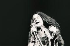 Janis Joplin Singing at Woodstock Fine Art Print