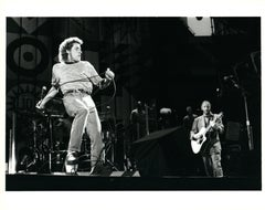 The Who Performing at Giants Stadium Vintage Original Photograph