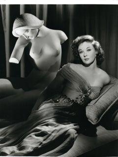 Susan Hayward in the Studio Vintage Original Photograph