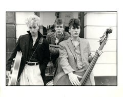The Stray Cats Group Portrait Vintage Original Photograph