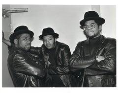 Run D.M.C. Group Portrait II Vintage Original Photograph