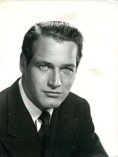 Classical Portrait of Paul Newman Vintage Original Photograph
