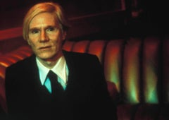 Andy Warhol in Booth at Studio 54 Fine Art Print