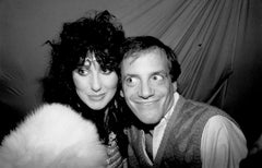 Cher and Steve Rubell Smiling at Studio 54 Fine Art Print