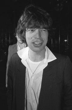 Mick Jagger Candid at Studio 54 Fine Art Print