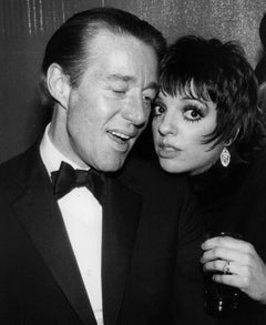 LIza Minelli and Halston Attending a Party at Studio 54 Fine Art Print