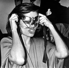 Bianca Jagger at Studio 54 on New Year's Eve Fine Art Print