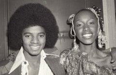 Michael Jackson Smiling at Studio 54 Fine Art Print