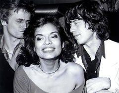 Bianca Jagger's Birthday Party at Studio 54 Fine Art Print