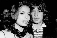 Mick and Bianca Jagger at Studio 54 Fine Art Print