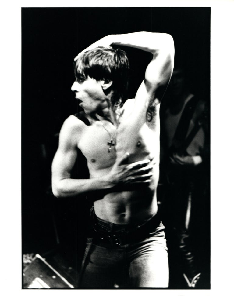 Iggy Pop Shirtless Vintage Original Photograph