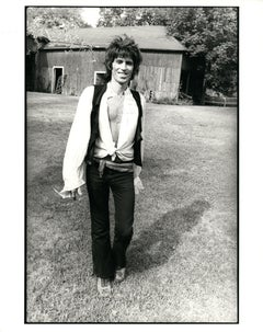 Keith Richards Outdoors Vintage Original Photograph
