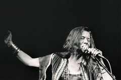 Janis Joplin Performing at Woodstock Fine Art Print