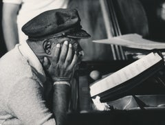 Count Basie at the Piano Fine Art Print