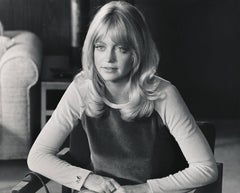Candid and Young Goldie Hawn Fine Art Print