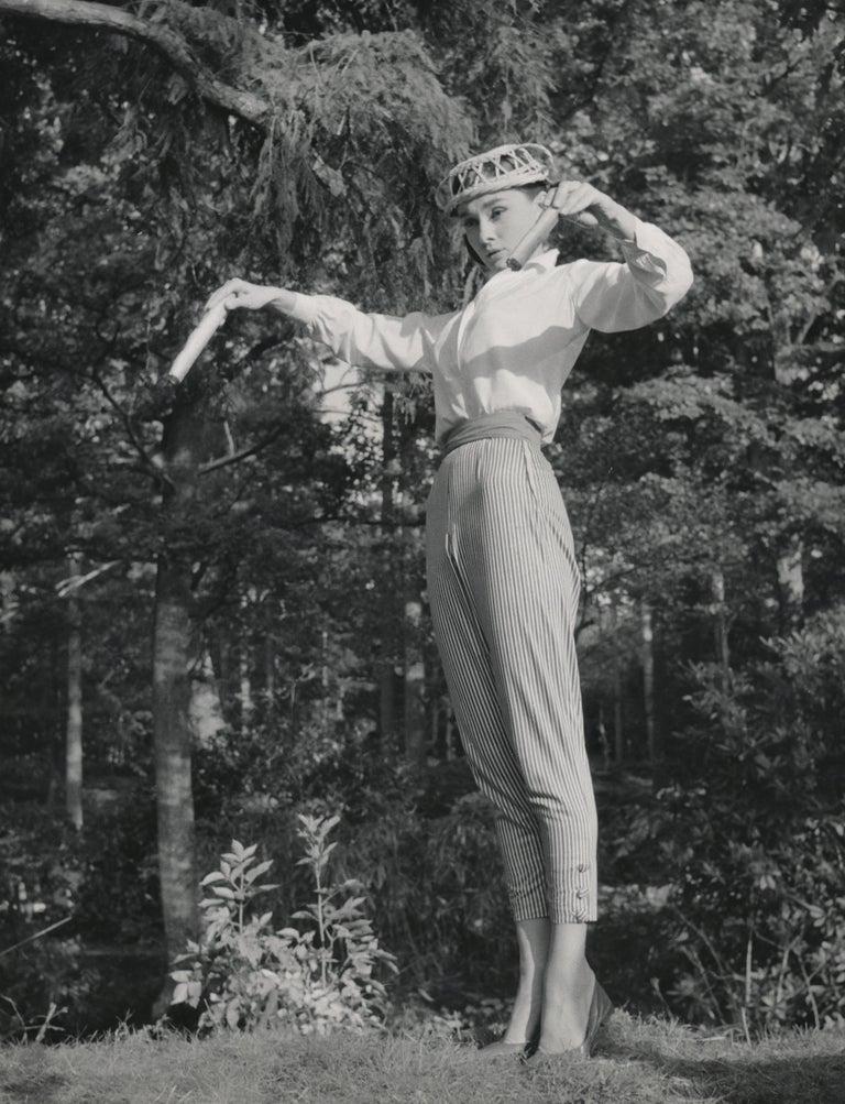Audrey Hepburn in Rare Form Fine Art Print