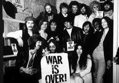 """John Lennon Group """"War is Over"""" Fine Art Print"""
