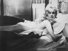 Brigitte Bardot Nude on Bed Fine Art Print