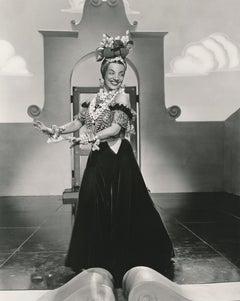 Carmen Miranda Dancing Fine Art Print