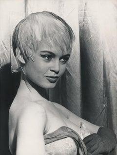 Brigitte Bardot with Short Hair Fine Art Print