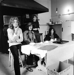 Led Zeppelin at Table II Fine Art Print