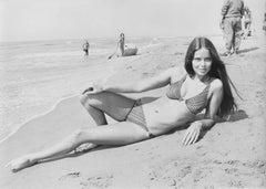 Barbara Bach: Sexy 007 Bond Girl in Bikini Fine Art Print