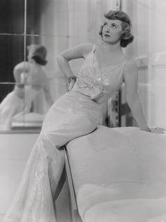 Bette Davis: Glamorous Screen Queen Fine Art Print