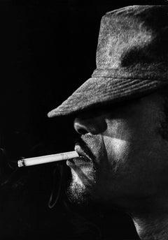 Sammy Davis Jr. Smoking Fine Art Print