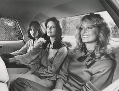 Charlie's Angels in the Backseat Fine Art Print