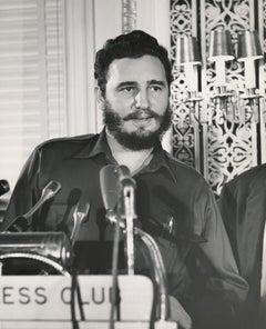 Fidel Castro in Washington D.C. Fine Art Print