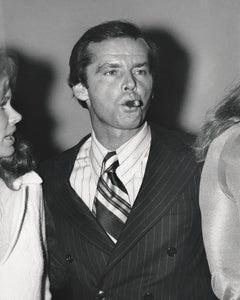 Jack Nicholson Candid with Cigar Fine Art Print