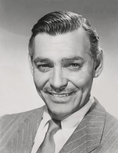 Clark Gable Closeup Fine Art Print