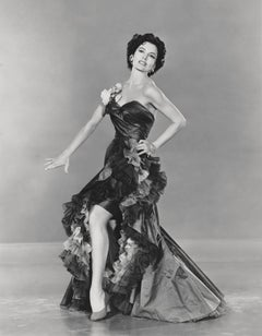 Cyd Charisse in Gown Fine Art Print
